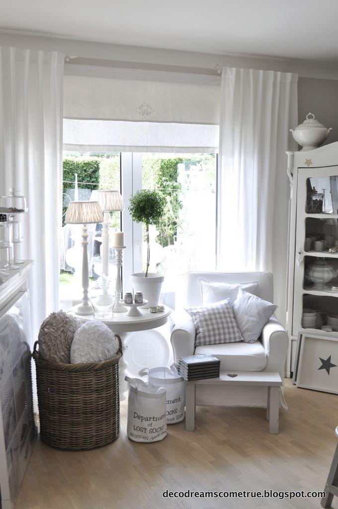 Best 20+ Landhaus Gardinen Ideas On Pinterest | Gardinen ... Vorhange Wohnzimmer Landhausstil