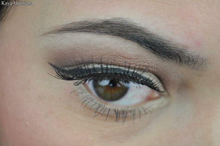 dagelijkse make-up look