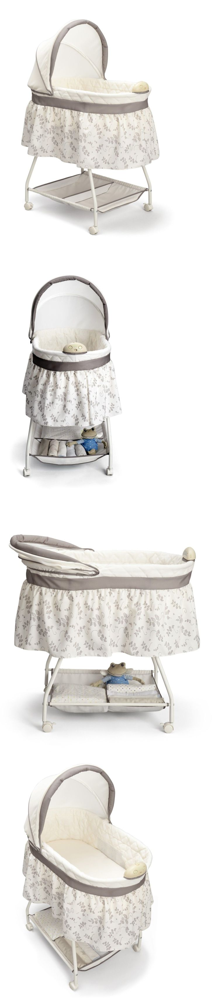 Bassinets and Cradles 20423: Reborn Baby Crib Bedside Bassinet Co Sleeping Bed For Stand Universal Skirt -> BUY IT NOW ONLY: $52.32 on eBay!