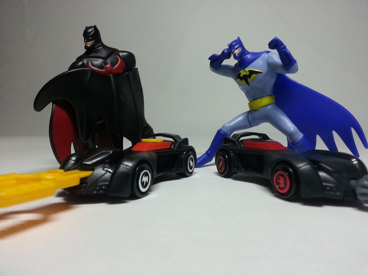 McDonalds Happy Meal Fight Batman and Batmobiles 2015 #happymeal #mcdonalds #Batman