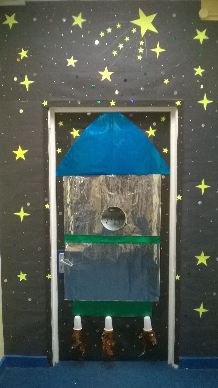 Classroom Door Display Solar System Topic By Vanessa And
