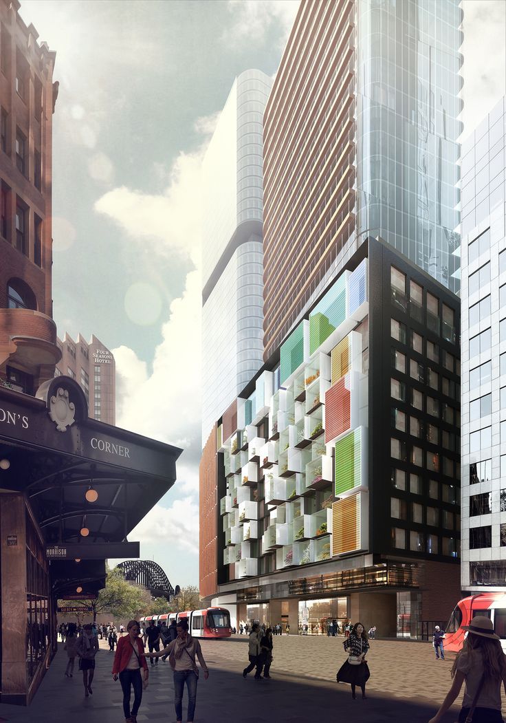 George Street hotel and residential apartments Sydney