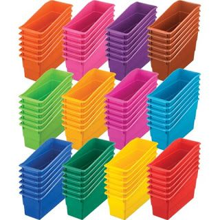 The Primary Pack: My IKEA Book Boxes Get a Makeover!