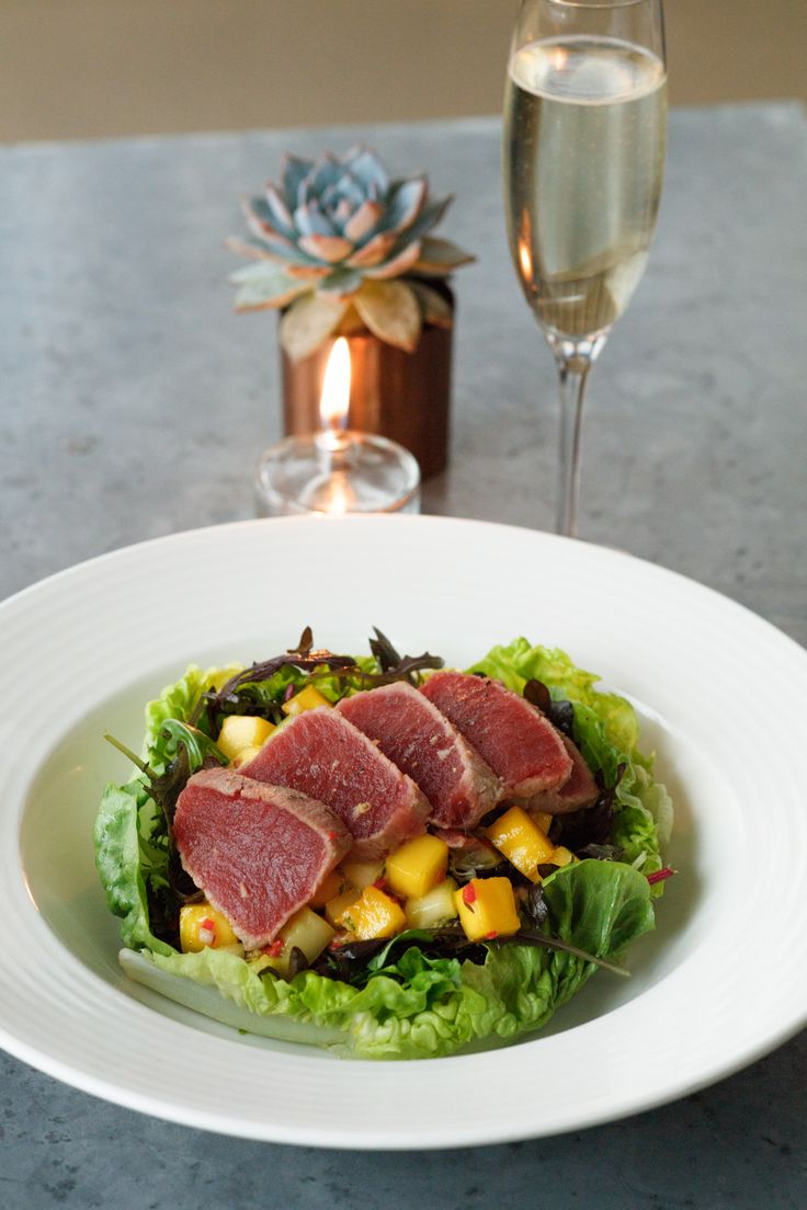 Our new Tuna and Chilli Mango salad will ignite your tastebuds!