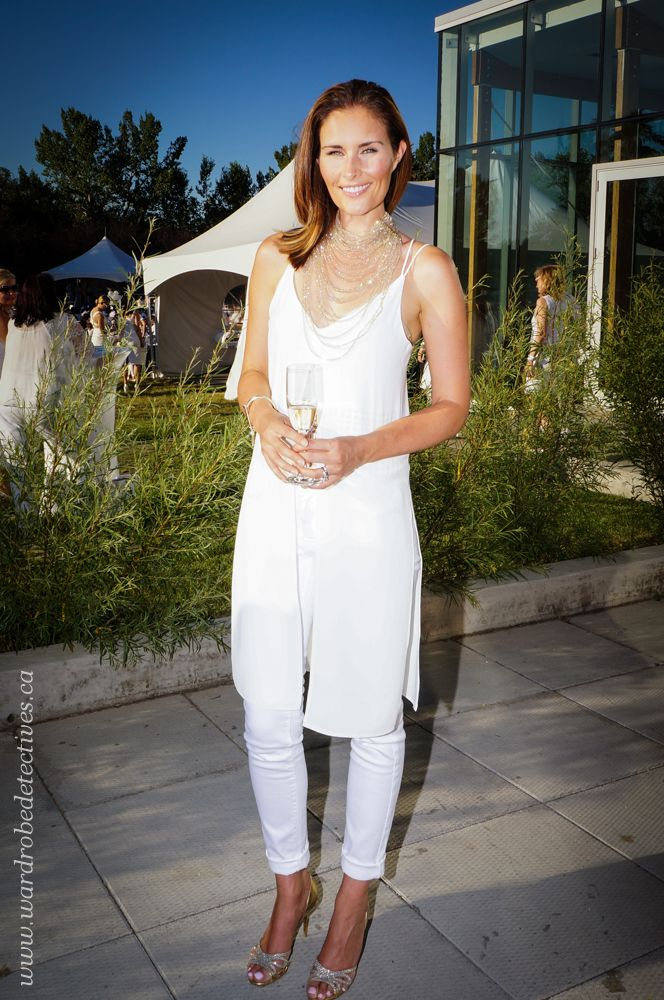 What they wore: DINER EN BLANC