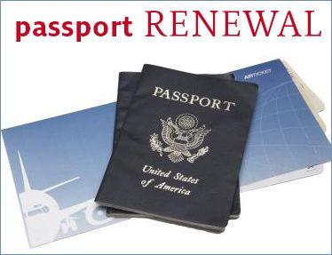 Passport Book Renewal Fee = $110