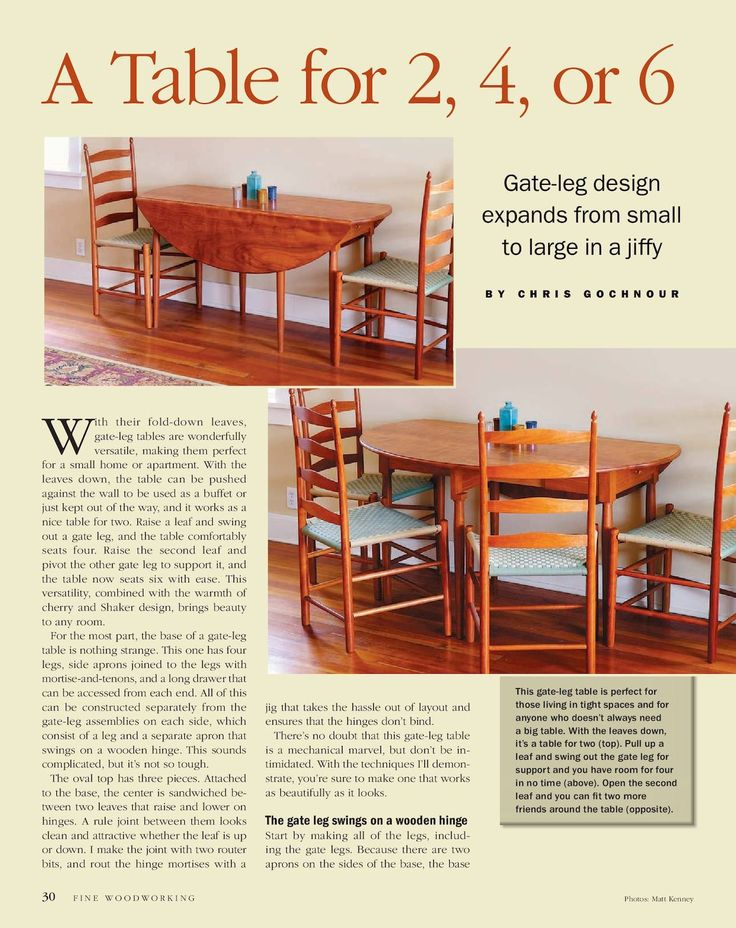 Fine Woodworking #255 July/August 2016 Preview