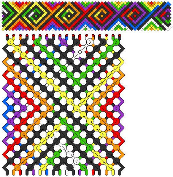 die besten 25 diy friendship bracelets beads ideen auf. Black Bedroom Furniture Sets. Home Design Ideas