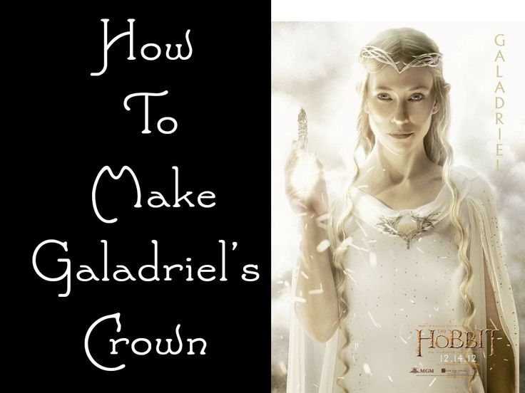 "Let's Make: Galadriel's Crown from the Hobbit // I have no idea what ""worbla"" is, but this looks pretty easy."