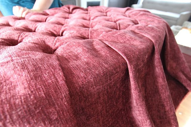 d i y d e s i g n: How to Re-Upholster Furniture with Deep, Folded Tufts
