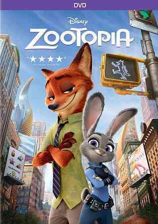 In a city inhabited by anthropomorphic animals who have abandoned traditional predator/prey roles in favor of civilized coexistence, uptight rabbit police officer Judy Hopps (voiced by Ginnifer Goodwi