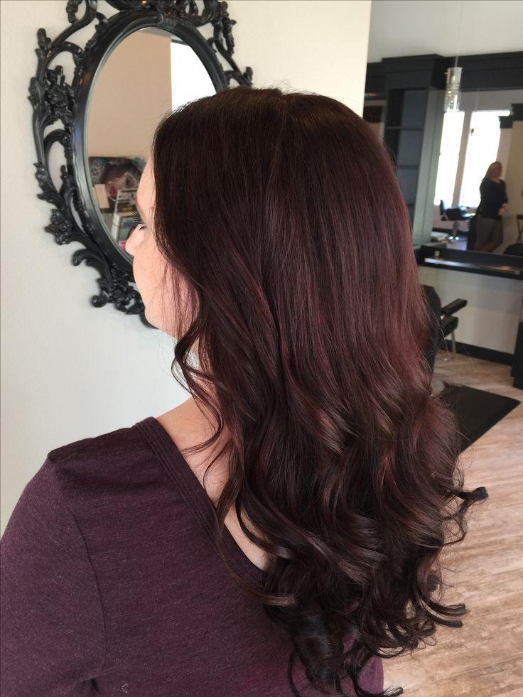 Best 25+ Mahogany hair ideas on Pinterest | Dark burgundy ...