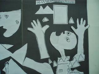 Kindergarten Art Class: ΓΚΟΥΕΡΝΙΚΑ -PABLO PICASSO