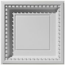 Coffered Dentil With Revealed Edge | Traditional Ceiling Tile