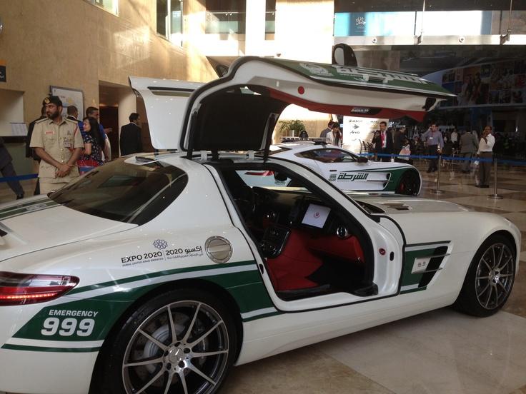 Dubai police Aston Martin. Naturally. #dubai #police #supercar