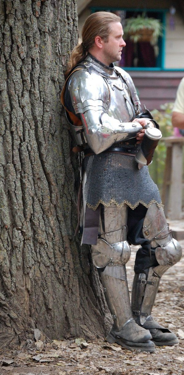 Knight at the Kansas City Renaissance Fair