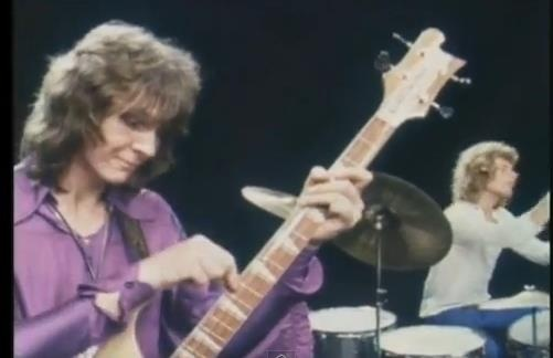 Chris Squire with Bill Bruford