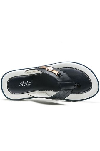 TXNS0017-A Flip-Flops Men Casual Fashion Leisure Flip-Flops Antiskid Slipper (Blue) | ราคา: ฿999.00 | Brand: Unbranded/Generic | See info: http://www.topsellershoes.com/product/20722/txns0017-a-flip-flops-men-casual-fashion-leisure-flip-flops-antiskid-slipper-blue