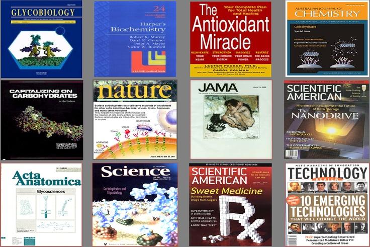 당영양소(필수 탄수화물)과 관련된 자료가 각종 저널지(Nature, Science, MIT 테크놀로지 리뷰지 등)에 소개되었습니다.