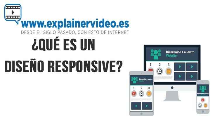 #DiseñoResponsive  Qué es un diseño responsive