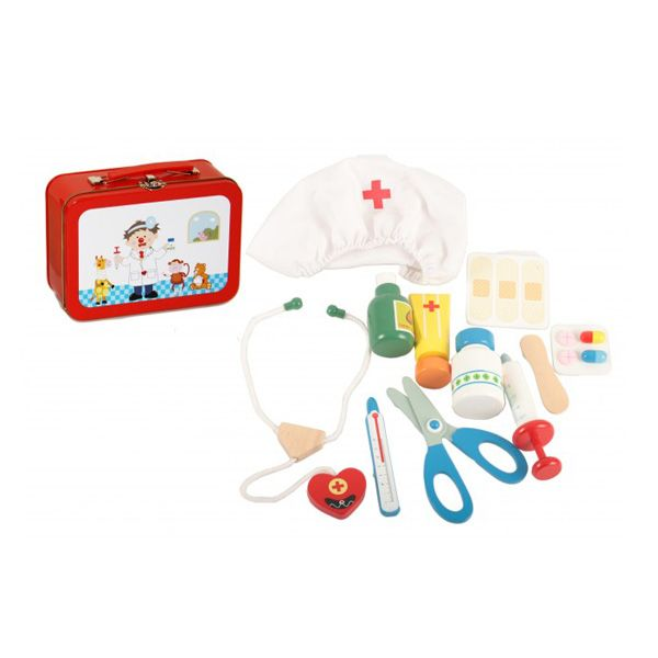 Image Toys doktorsæt i kuffert