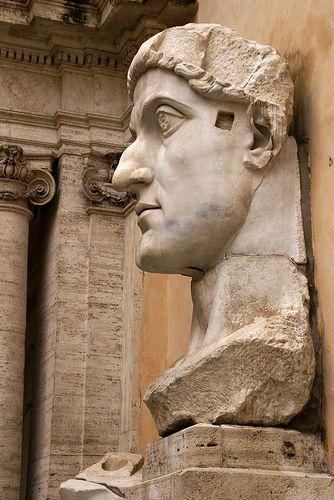Rom, Kapitolinische Museen, Kaiser Konstantin der Große (Capitoline Museums, Empereror Constantine the Great)