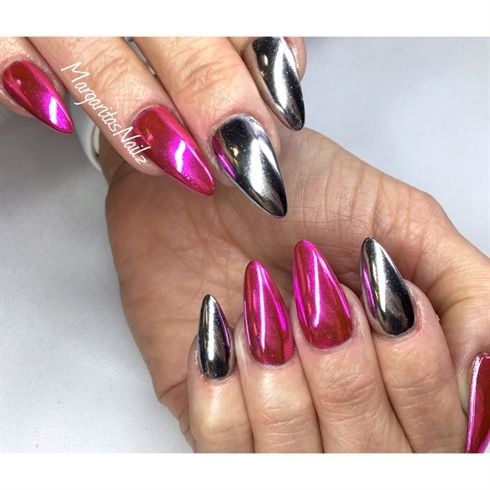 185 best images about nail art on pinterest nail art mirror nails and luminous nails. Black Bedroom Furniture Sets. Home Design Ideas