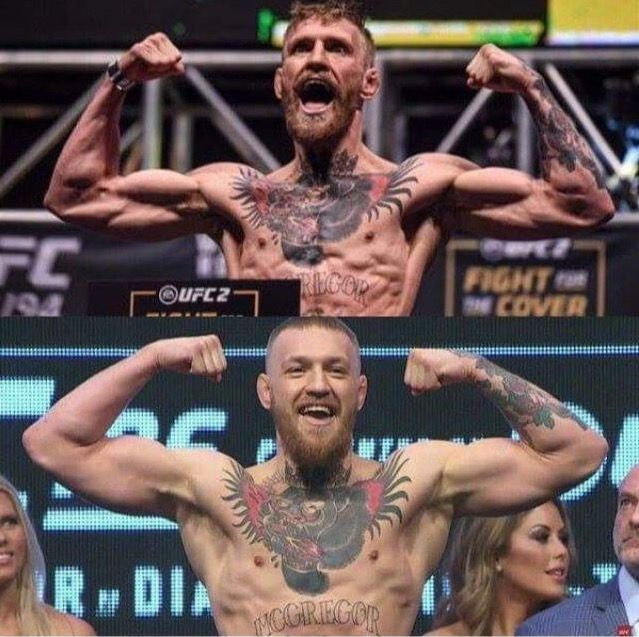 Conor McGregor 145lbs vs 168lbs : if you love #MMA, you'll love the #UFC & #MixedMartialArts inspired fashion at CageCult: http://cagecult.com/mma