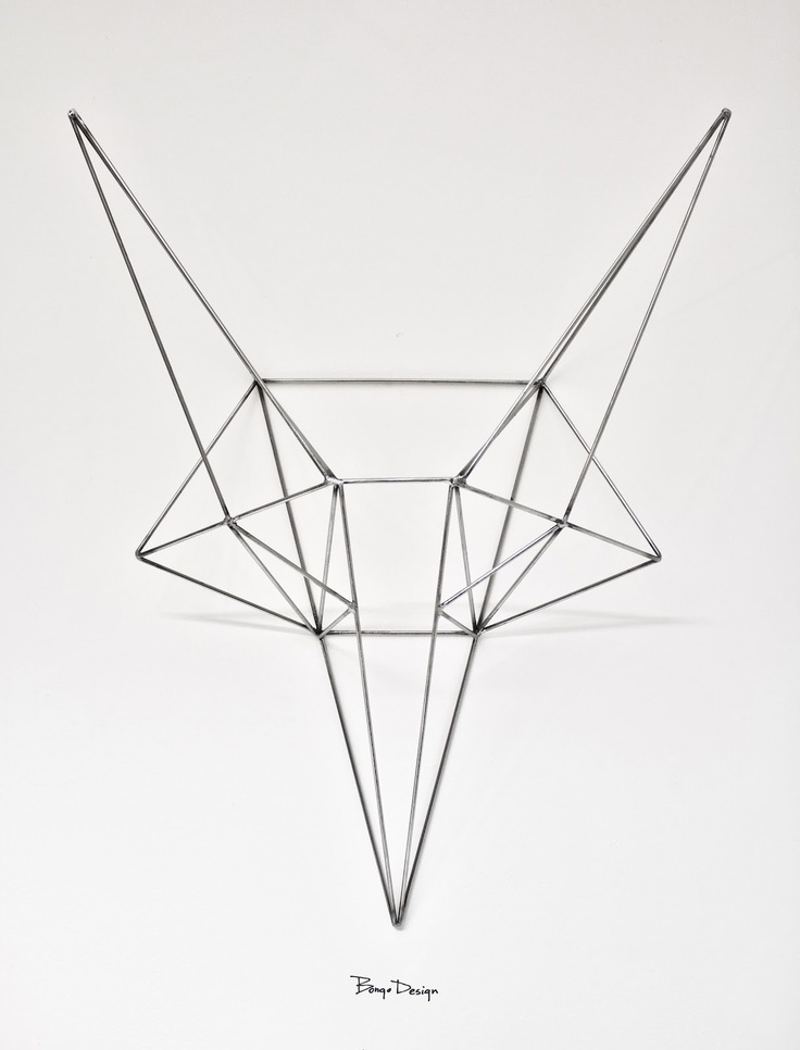 Steel Fox Head by Bongo Design