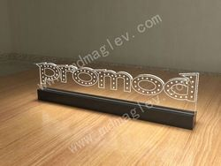 Engraving Acrylic Lit Signs,Laser Engraving Acrylic Led Sign,Led Blinking Sign,Plexiglass Sign Holder,Illuminated Signs,Stand - Buy Engravin...