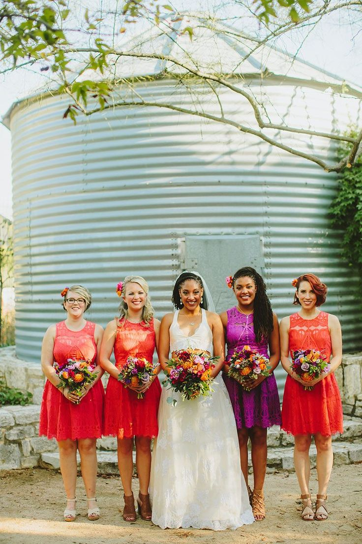 338 best bridesmaids dresses images on pinterest bridesmaids a garden wedding with the crop top dress of our dreams crop top dressmismatched bridesmaid ombrellifo Choice Image