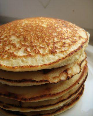 almond pancakes: low-carb