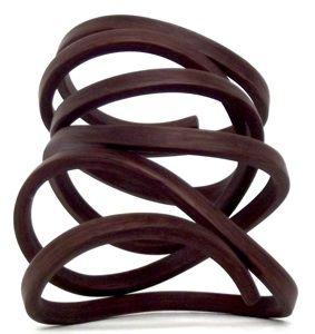 gustav reyes, wood bracelet