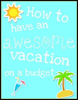 Looked on here for vacation savers but came across a awesome blogger with amazing ideas!
