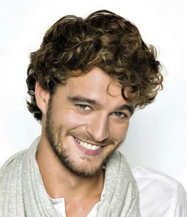 Curly Hairstyles Men Custom 21 Best Latest Curly Hairstyles For Men Images On Pinterest