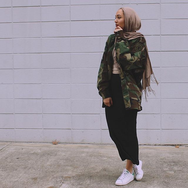 New outfit ft. oversized camo up at mariaalia.com ~ shop the look there or with @liketoknow.it. www.liketk.it/1XmOz