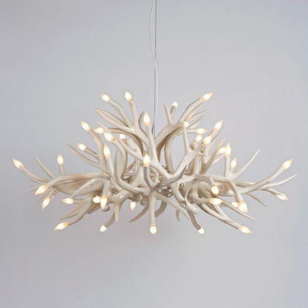 23 best lighting images on pinterest chandeliers light fixtures hill superordinate antler chandelier 24 antlers modern chandeliers aloadofball Gallery