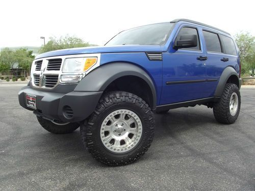 dodge nitro with black wheels | Sell used 2007 DODGE NITRO 4X4! LIFTED! SXT! BEAD LOCK WHEELS! NITTO ...