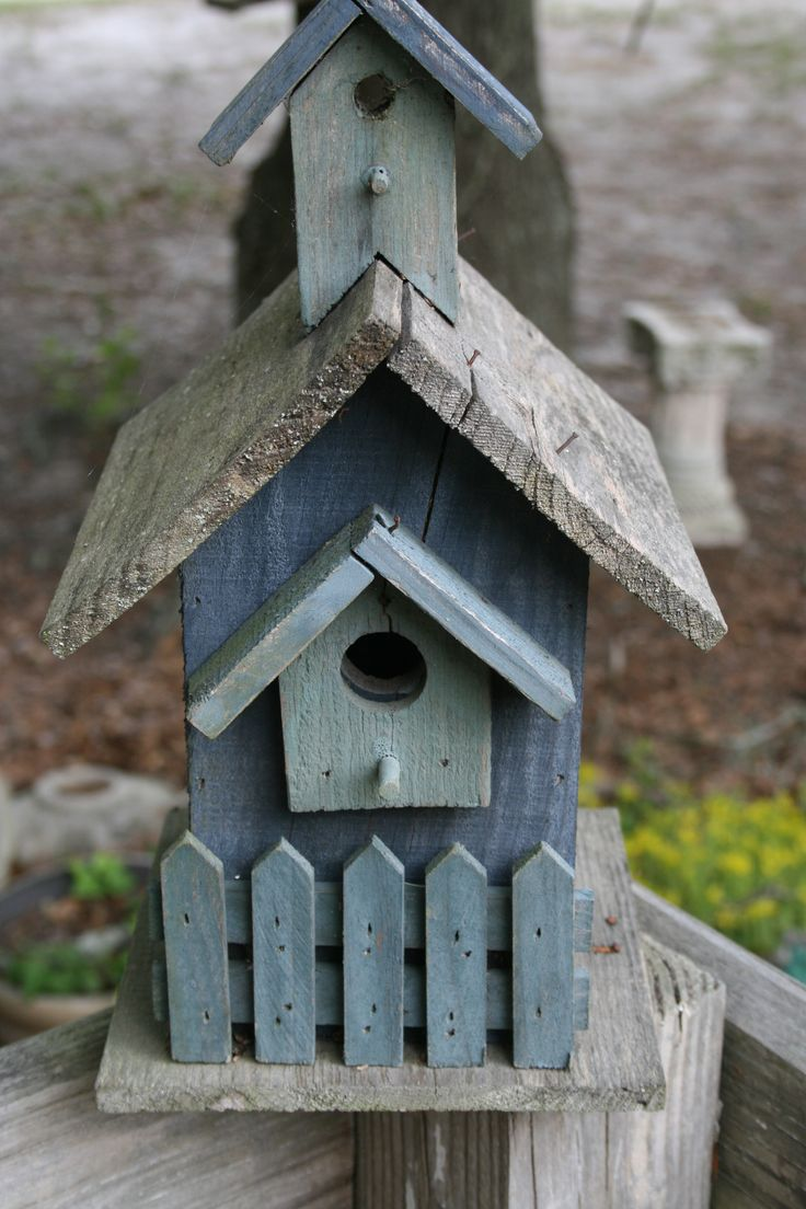 Old bird house by barbara rowan bird houses pinterest for Casitas de madera