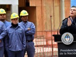 """Para justificar la reforma Macri y su gobierno hablan de una """"industria del juicio laboral""""."""