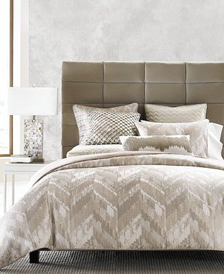 Hotel Collection Distressed Chevron Comforters, Only at Macy's - Bedding Collections - Bed & Bath - Macy's