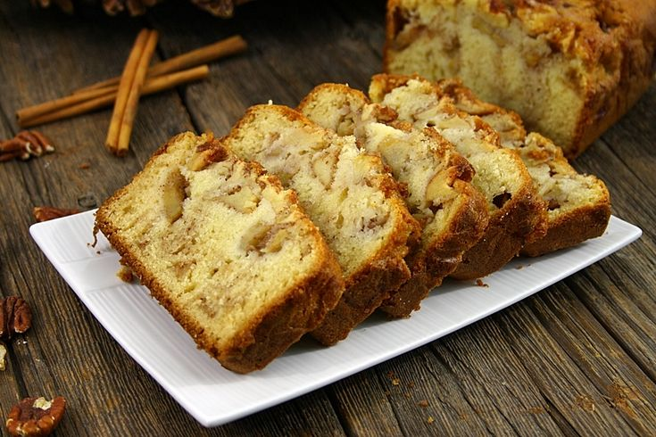 Chec cu mere si scortisoara/ Apple cinnamon loaf