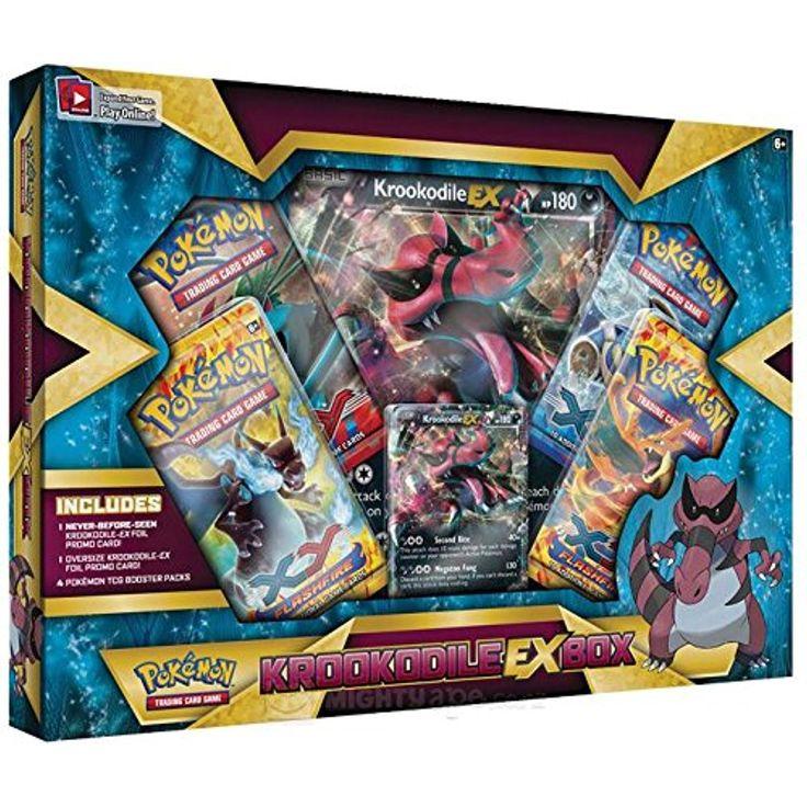 Krookodileex box pokemon trading card game discontinued