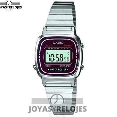 ⬆️😍✅ Casio LA670WEA-4EF ✅😍⬆️ Maravilloso Modelo de la Colección de Relojes Casio PRECIO 21.52 € En exclusiva en 😍 https://www.joyasyrelojesonline.es/producto/casio-la670wea-4ef-reloj-digital-de-cuarzo-para-mujer-con-correa-de-acero-inoxidable-color-plateado/ 😍 ¡¡Ofertas Limitadas!!