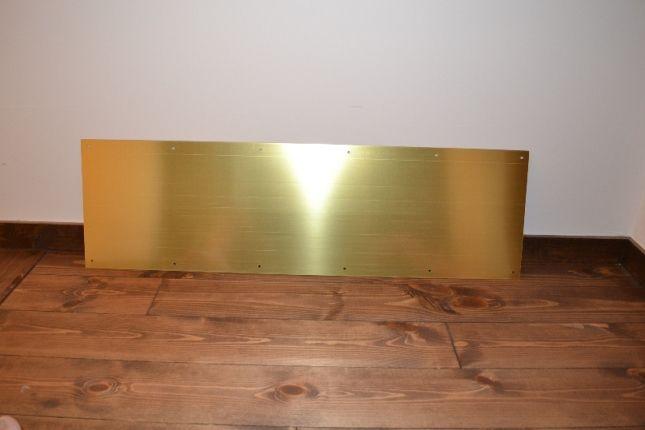 Prine line 真鍮キックプレート(蹴り板)J4621