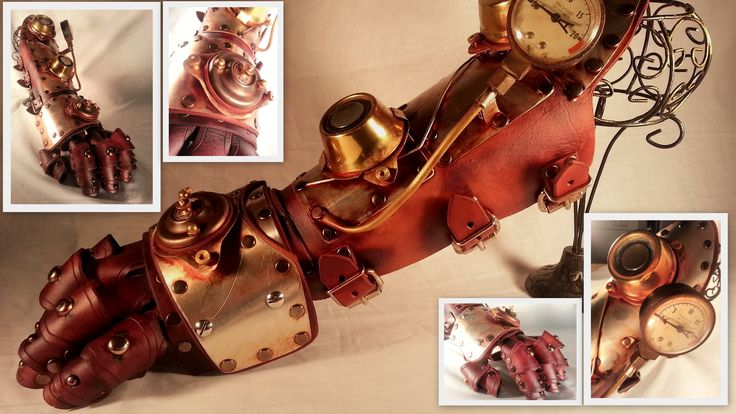 Steampunk Gauntlet - Here comes the BOOM! by futuremod.deviantart.com