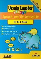 Sprach- und Rechenspiele für die 3. Klasse, 1 CD-ROM