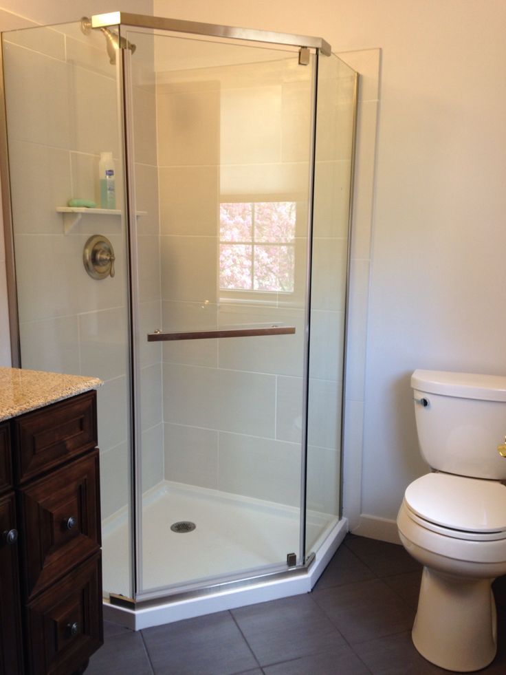 neo angle shower remodeljoe miller  neo angle shower