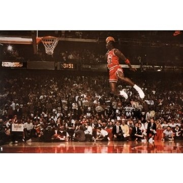 Michael Jordan the GOAT! Love my hometown guy Bron, but will never beat this man's game!