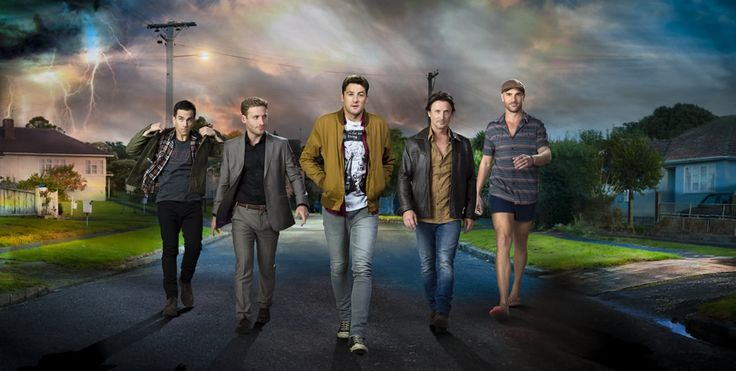 The Almighty Johnsons: Definitely one of my favorite shows! It's about 4 brothers who are actually gods who lost their powers but have the opportunity to get them back when their youngest comes of age. Amusing beyond words. Three seasons of fun.